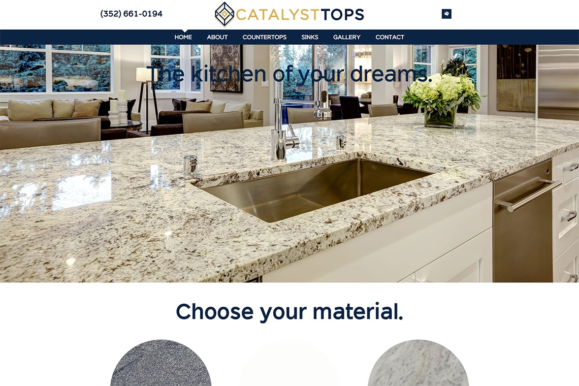 Get the Kitchen of Your Dreams With Catalyst Tops Countertops